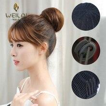 Ponytail For Women Fake Hair Bun Extension Clip in
