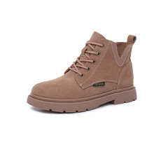 Ms. Martin boots British style autumn and winter new students comfortable flat-bottom fashion Korean version of the women