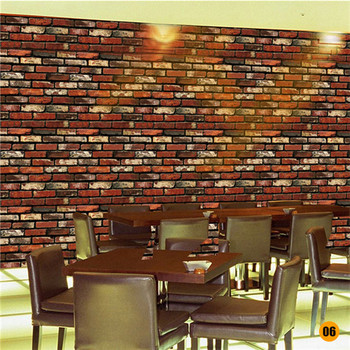 45*100cm Bricks Pattern Wall stickers Home Bedroom Decoration Environmental Protection Waterproof Vinyl Wallpaper 8