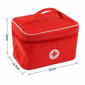 Toys For Children Girl Boy Kids Pretend Play Wood Doctor Toys Kit Dentist Medicine Box Sets Red Medical Cloth Bag Packing Games