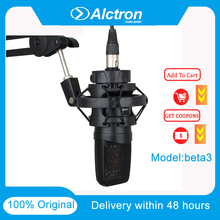 Alctron Beta3 Professional FET Condenser Mic Used In Studio Recording Stage Performance Professional Recording Broadcast Live