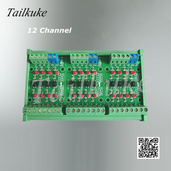 4-32 Channel Plc Optocoupler Conversion Module Signal Level Conversion Board 3.3v Conversion 24v NPN Output PNP Output фото