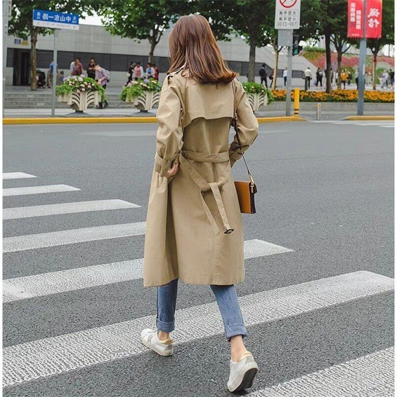 Fashion Windbreakers Manteau Long Femme Hiver Trench Autumn Coat Female For Parka Women Moda Mujer Plus Size Spring Cloak Bur