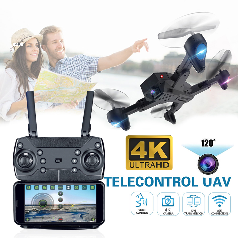 S9T Drone 4K with camera WiFi FPV High Hold  rc helicopter Wide Angle professional Quadrocopter selfie drones Foldable Arm SG900