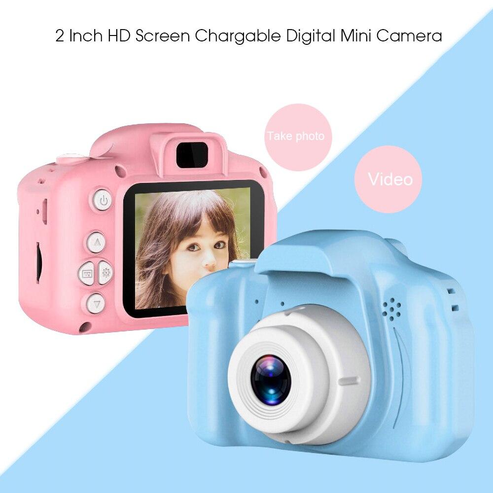H7845628d0b464446b1e08fb4bc8eb112o Kebidu Mini Digital Camera 2 Inch Cartoon Cute Camera Toys Children Birthday Gift 1080P Toddler Toys camera