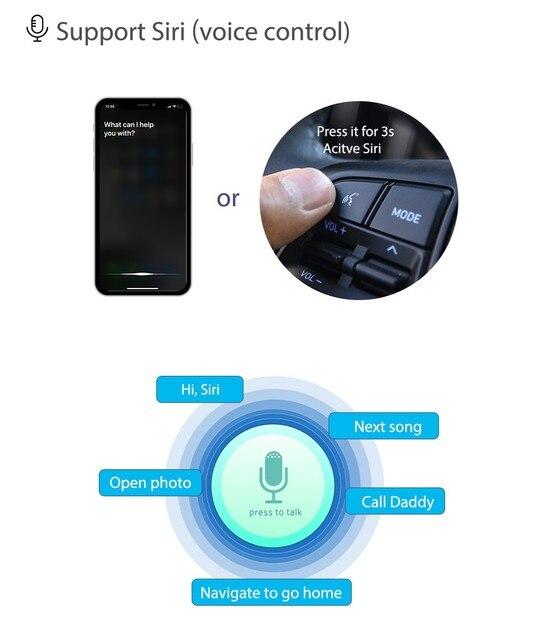 Andream WIFI bezprzewodowy Apple Carplay pudełko z systemem Android Auto dla BMW System NBT 1 2 3 4 5 7 serii X3 X4 X5 X6 MINI F10 F15 F16 F30 F48