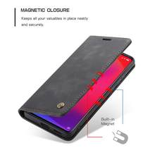 Caseme 013 Ultra-Thin Business Wallet Mobile Phone Case Fashionable Mobile Phone Wallet Holster For Xiaomi Mi9T(China)