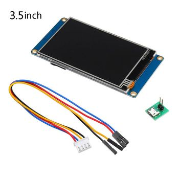 "3.5/4.3"" Nextion HMI TFT Touch Screen English Version LCD Display USART UART Serial Interface Module for Raspberry Pi 3 - A"