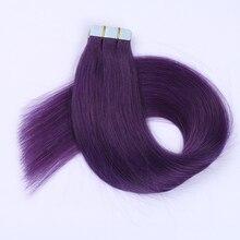 """Simbeauty, пряди, человеческие волосы, прямые, лента для наращивания, волосы remy, двухсторонние, на ленте, волосы 1"""" 18"""" 2"""" 22"""" 2"""" 20 шт"""