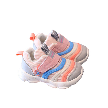 Kids shoes Fashion New Spring Autumn Children  Sneakers Shoes Girls Breathable Sports Size 21-30