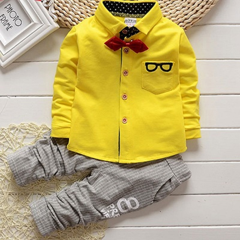 2020 New Spring Autumn Boys Dress Small Suits Children's Suit Two-piece Set Gentleman Boy Children's Suit Children's Clothing