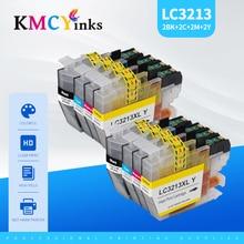 KMCYinks LC3211 LC3213 совместимые чернильные картриджи для Brother LC 3213 XL DCP-J572DW DCP-J772DW DCP-J774DW MFC-J491DW J497 принтер