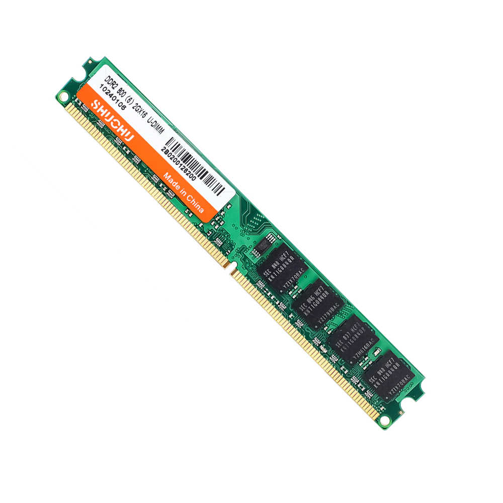 SHUOHU RAM DDR2 2GB 800MHZ 667MHZ 4GB 2pcs * 2G PC2-6400 5300 CL6 4GB זיכרון RAM SO-DIMM אחריות לכל החיים