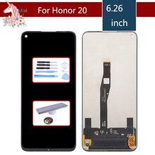 Ban đầu MÀN HÌNH LCD Cho Huawei Honor 20 YAL L21 Màn Hình Cảm Ứng LCD Bộ Số Hóa YAL L41 YAL AL10 Thay Thế Cho Huawei Honor 20 Pro MÀN HÌNH LCD màn hình