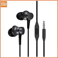 Original Xiaomi Kolben 3 Kopfhörer Bass Wired 3,5 MM In-ohr Sport Kopfhörer mit Mic Headset für Telefon Xiaomi samsung Huawei