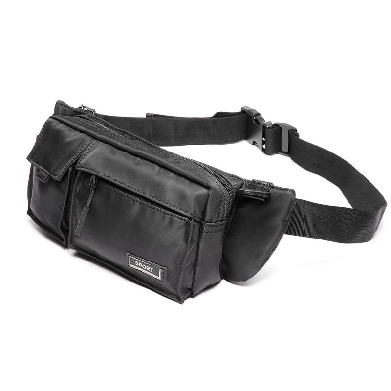 Large Capacity Storage Waist Bag Canvas Fanny Pack For Men And Women Big Blet Bag Multi-Functional Chest Bags Banana Waist Packs