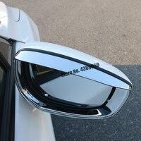 ABS Chrome Für Mazda CX-30 2020 2021 Zubehör Auto Seite Tür rückspiegel regen augenbraue Abdeckung Trim Auto styling 2 stücke