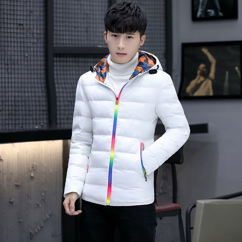 Winter Jacket Men Clothes 2020 Casual Hooded Fashion Winter Coat Men Parka Outerwear Warm Slim Fit Overcoat Hiver 1729