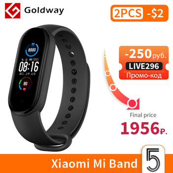 Xiaomi Mi Band 5 Smart Bracelet 4 Color AMOLED Screen Miband 5 Smartband Fitness Traker Bluetooth Sport Waterproof Smart Band Consumer Electronics