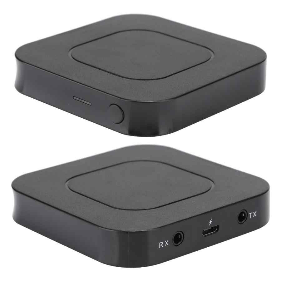 2 en 1 PVC negro Bluetooth inalámbrico receptor de Audio adaptador transmisor para TV ordenador bluetooth Adaptador de audio antena incorporada