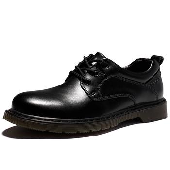 Nowe męskie buty na co dzień jesienne oddychające buty Oxford płaskie buty męskie modne wygodne buty z prawdziwej skóry Brogue buty 38-47 tanie i dobre opinie siddons CN (pochodzenie) Skóra Split RUBBER 89011 Lace-up Pasuje prawda na wymiar weź swój normalny rozmiar Oksfordzie
