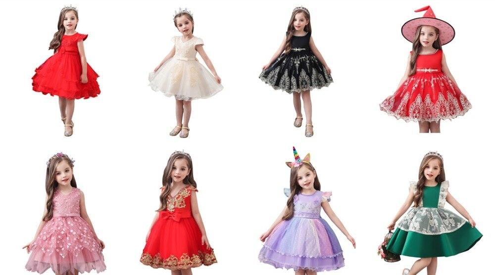 Princess dress 8pcs
