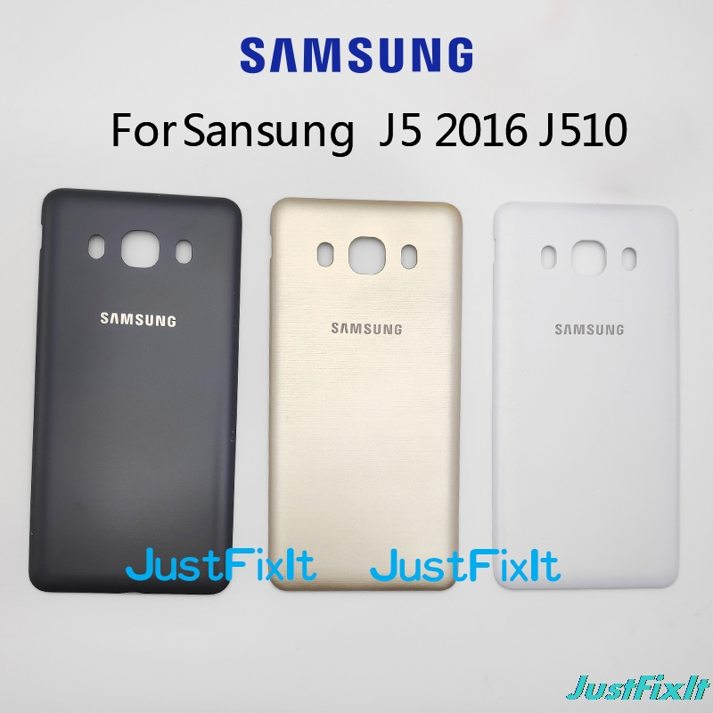 For Samsung Galaxy J5 2016 J510 J510F J510FN J510H J510G Original Phone Cases Housing Back Cover Rear Battery Door image