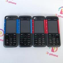 מקורי נוקיה 5310 XpressMusic נייד טלפון משופץ סמארטפון טלפונים סלולריים אנגלית ערבית רוסית מקלדת