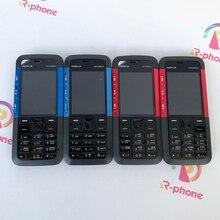 Celular nokia 5310 xpressmusic original, celular renovado, desbloqueado, teclado inglês, árabe russo
