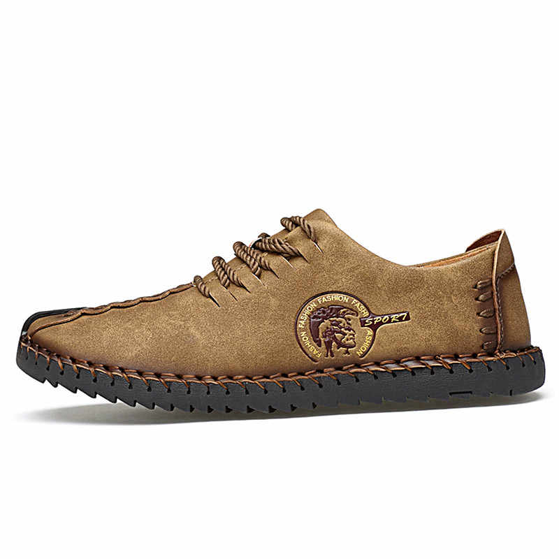 Venda quente sapatos masculinos sapatos casuais sapatos de couro respirável homem leve calçados tamanho grande de alta qualidade zapatos hombre