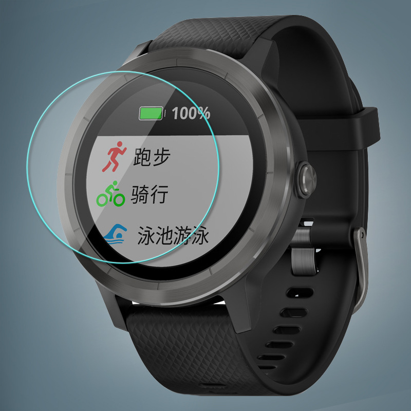 9H Tempered Film For Garmin Vivoactive 3 Smart Watch Screen Protector Scratch-Resistant For Garmin Vivoactive 3 Film