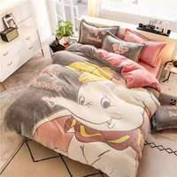 Conjunto de cama de caxemira  conjunto de roupa de cama com 4 peças de floco de neve  capa de edredon  flanela  lã 3d  gravado no inverno ab conjunto de linho