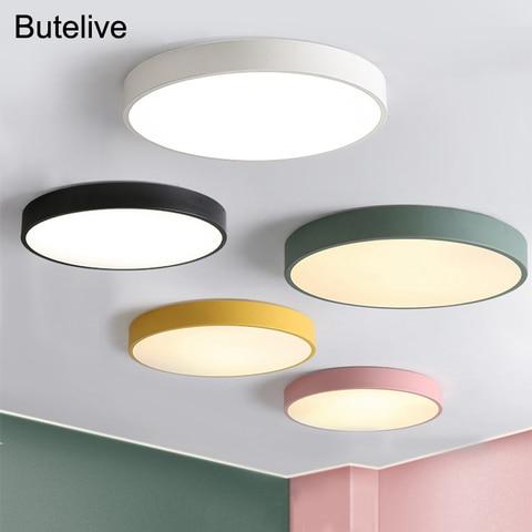 lampada led de teto moderna regulavel para quarto sala de estar luz nordica para quarto