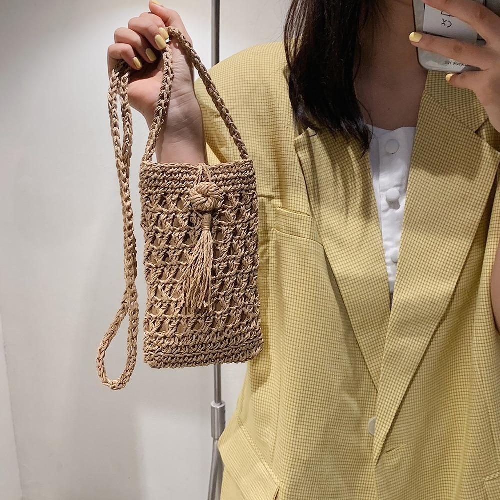 Mini Straw Beach Bags for Summer 2021