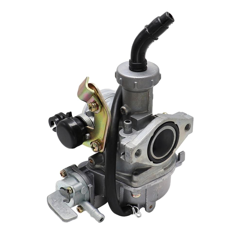 Карбюратор для мотоцикла PZ20, ручной кабельный Chock Carb 20 мм с масляным переключателем для мотоцикла-внедорожника 50cc-125cc