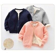 BibiCola/детская теплая куртка для мальчиков и девочек куртка для отдыха, бархатная Весенняя детская одежда хлопковая рубашка теплая верхняя одежда для поздней осени