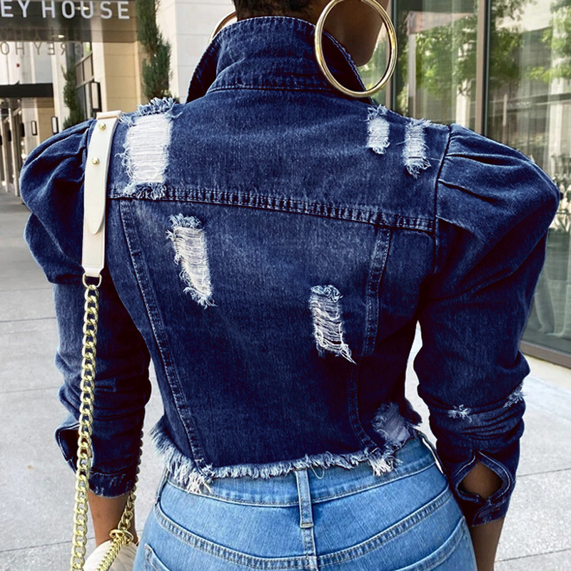 Sexy Ripped Denim Jackets for Women 2