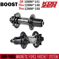 Koozer MTB Boost hubs 32H 24 Full Gear Ratchet Mountain Bicycle Hub 148/150 12MM and 141 10MM For SHIMANO 8 11S SRAM XD 12S