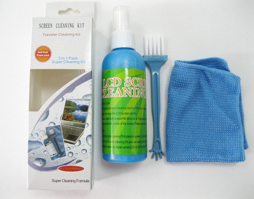 Portable Computer Screen Cleaning Set Mobile Phone Screen Cleaner Factory Price Wholesale
