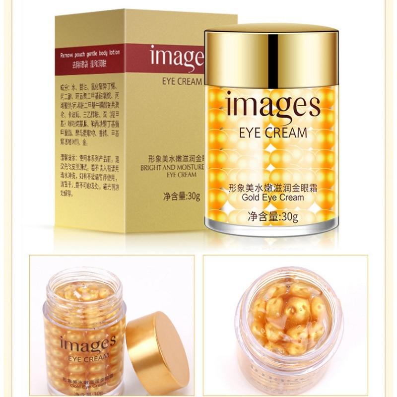 30g Golden Eye Cream For Dark Circle Eye Bag Fine Lines Sacoche Femme Eye Eyes Ojeras Treatment Anti-Aging Firming Cream