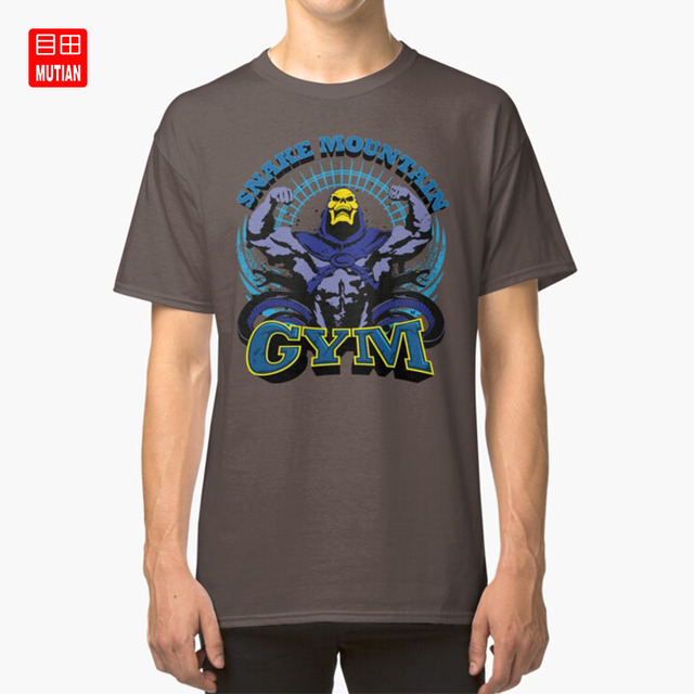 Another Nerd T-Shirt style3 Snake Mountain Gym Herren Tank Top Master Universe Mountain Skeletor A.N.T