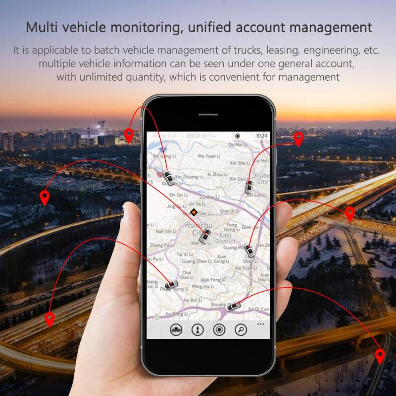 Image 5 - OBD II GPS Tracker Car GSM 16 Pin OBD2 Tracking Device GPS+Beidou Locator OBDII with online Software IOS Andriod APPGPS Trackers   -