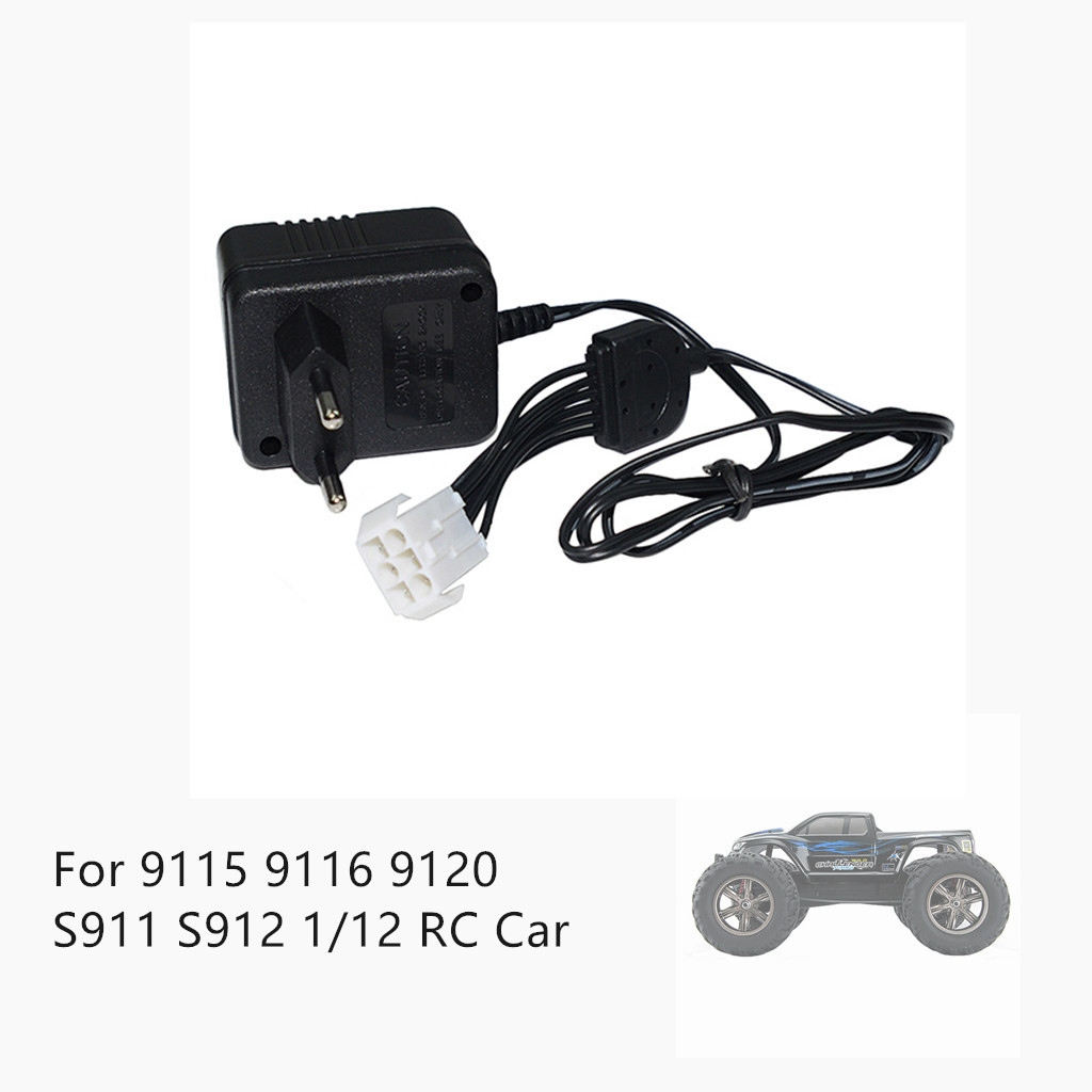 Remote control car accessories Balance Charger Spare Part For <font><b>9115</b></font> 9116 9120 S911 S912 1/12 <font><b>RC</b></font> Car <font><b>Battery</b></font> image