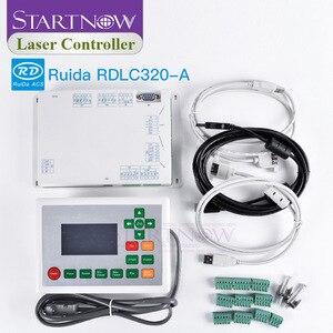 Image 2 - RD 320 A לייזר בקרת DSP כרטיס CNC ראשי לוח Ruida RDLC320 A עבור חריטת ציוד חילוף חלקי CO2 לייזר בקר מערכת