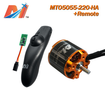 Maytech partes eléctricas 5055 220KV motor sin escobillas para monopatín + control remoto (2 uds)