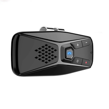 Voiture pare soleil Bluetooth 5.0 récepteur lecteur de musique voiture Bluetooth mains libres téléphone Bluetooth amplificateur audio, pas de noise7 langues