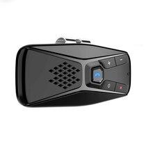 車のサンバイザーのbluetooth 5.0 レシーバー音楽プレーヤー車のbluetoothハンズフリー電話のbluetoothオーディオアンプ、なしnoise7 言語