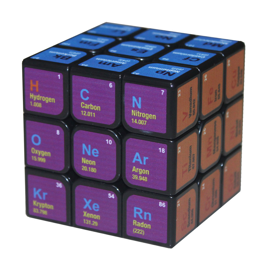 Chemistry Cubed
