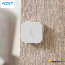 Bundle Sale Original Aqara Smart Air Pressure Temperature Humidity Environment Sensor Work With Apple Home Kit/Mijia APP Control