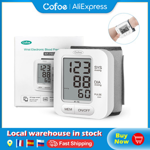 Image 1 - Cofoe דיגיטלי יד צג לחץ דם אוטומטי מד לחץ דם קול BP Tonometer קצב לב דופק לבריאות